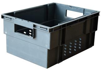 Imagen de Caja 30x40x20 Usada Encajable y Apilable