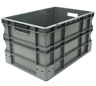 Imagen de Caja Plástica Eurobox 40 x 60 x 33 cm Ref.SPK 4632